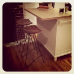 our cute 'lil bar stools...