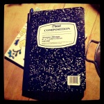 obsession with composition books