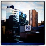 beautiful architectural views from the high line...
