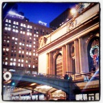 happy holidays at grand central