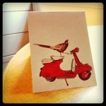 meet vesputin, the vespa riding turkey