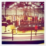 boxing ring at chelsea piers sports club