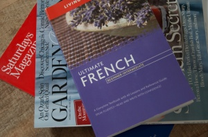 Weekly French lessons at Idlewild Books...